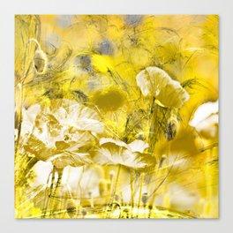 Wild poppy abstract-2 Canvas Print