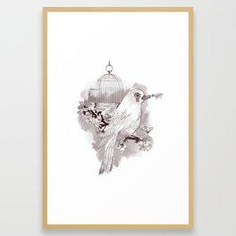 Key to Freedom Framed Art Print