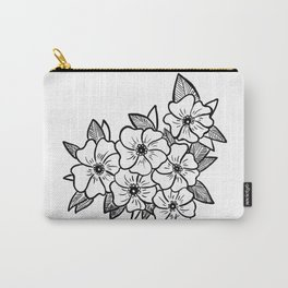 Inked flowers Carry-All Pouch