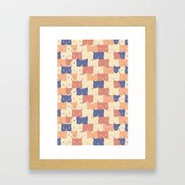 Clowder Framed Art Print