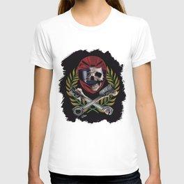 pilot skull T-shirt