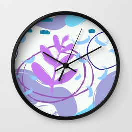 Abstract Pattern Modern Art 5 Wall Clock