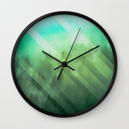 Emerald Adventure Awaits Wall Clock