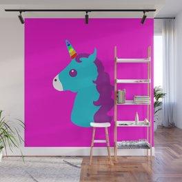 Portrait  of a Unicorn Wall Mural