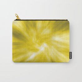 Yellow Tie Dye Carry-All Pouch