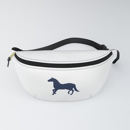 Blue Horse Fanny Pack