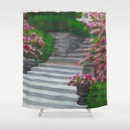 Jeffrey Mansion Shower Curtain