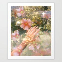 Growing & Glowing Art Print