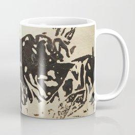 Ink drawing - abstract pattern Coffee Mug