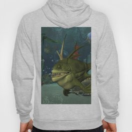 Awesome fish in the deep ocean Hoody