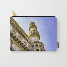 Looking up at One of the Minarets at the Charminar Mosque in Hyderabad, India Carry-All Pouch