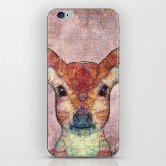 Abstract Fawn iPhone & iPod Skin