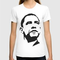 obama T-shirts featuring barak obama by b & c