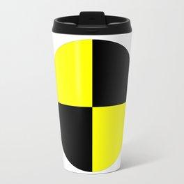 crash test dummies symbol  Travel Mug