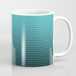 Tiffany Ombré Jade Blue Pattern Coffee Mug