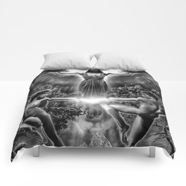 VI. The Lovers Tarot Illustration Comforters