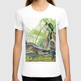 Mallard Ducks - John James Audubon T-shirt
