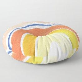 Desert Rainbow Floor Pillow