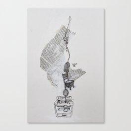 Dinah Canvas Print