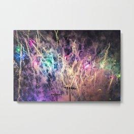 Color Explosion. Metal Print