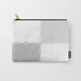 QUARTERS #1 (Grays & White) Carry-All Pouch