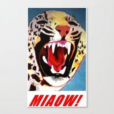 Big Cat Miaow! #2 Canvas Print