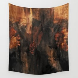 Addiction is the new Religion #2 Holy Sinners Wall Tapestry
