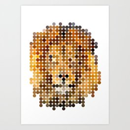 Jungle King Art Print