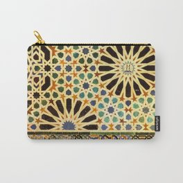 """""""Mexuar room"""". Details in The Alhambra Palace.  Carry-All Pouch"""