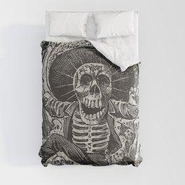 Calavera Oaxaqueña - Día de los Muertos - Mexican Day of the Dead by Jose Guadalupe Posada Comforters