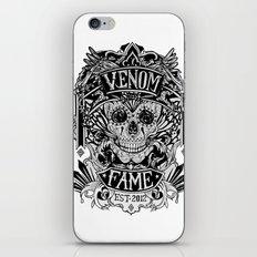 Venom Fame crest iPhone & iPod Skin