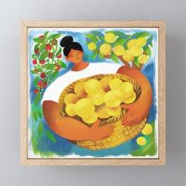 La Limonera Framed Mini Art Print