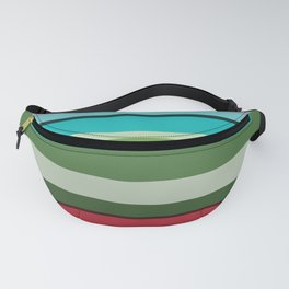 P016 Funky Lines Fanny Pack