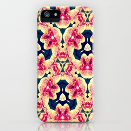 Kaleidoscope Orchids iPhone Case