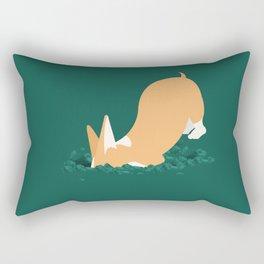 Let's dig it. Rectangular Pillow