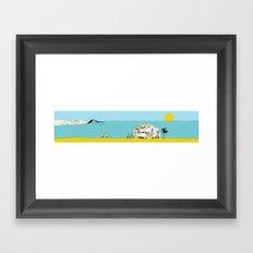 Beach Shack Framed Art Print