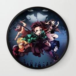 Blade of Demon Destruction Poster Wall Clock