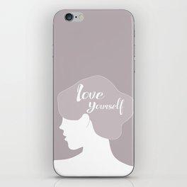 LOVE YOURSELF iPhone Skin