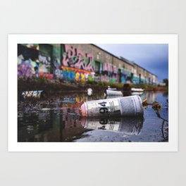 MTN Reflections Art Print