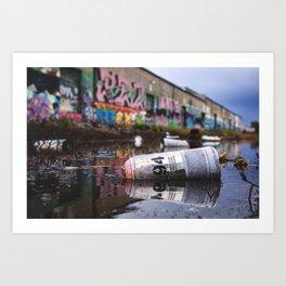 MTN Reflections Art Print