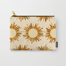 Art Deco Starburst Carry-All Pouch
