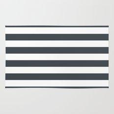 Charcoal Stripes Rug