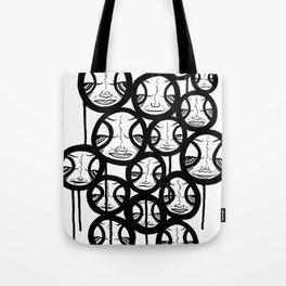 Faces In The Sky Tote Bag