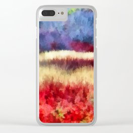 Mother Nature's Artistry Clear iPhone Case
