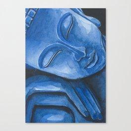 Blue Buddha Canvas Print