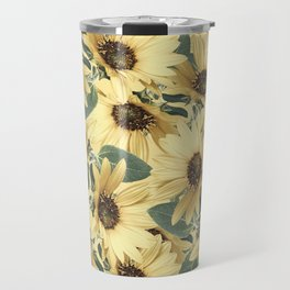 Bed Of Sunflowers Travel Mug