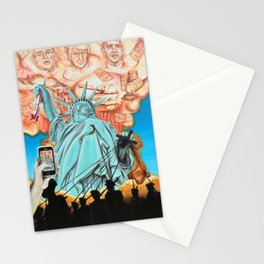 Welcome to America Stationery Cards