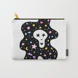 Skull on the sky Carry-All Pouch