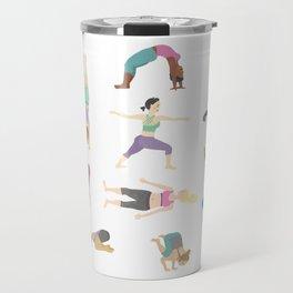 Yoga People Travel Mug