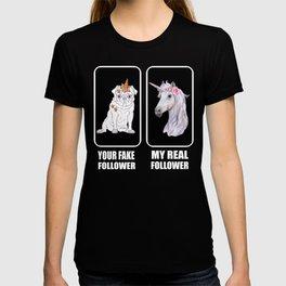 Youtube Influencer Unicorn Dog Pug Gift Idea T-shirt